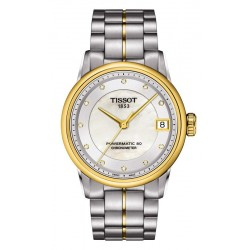 Acheter Montre Tissot Femme Luxury Powermatic 80 COSC T0862082211600 Diamants