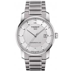 Montre Tissot Homme T-Classic Powermatic 80 Titanium T0874074403700