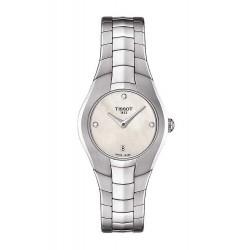 Montre Tissot Femme T-Lady T-Round T0960091111600 Diamants Nacre