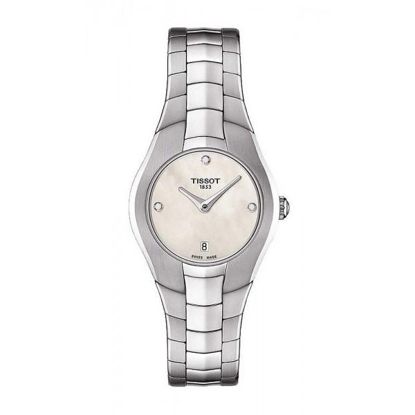 Acheter Montre Tissot Femme T-Lady T-Round T0960091111600 Diamants Nacre