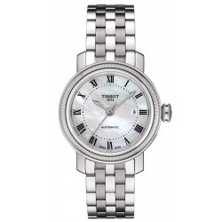 Montre Tissot Femme Bridgeport Automatic T0970071111300 Nacre