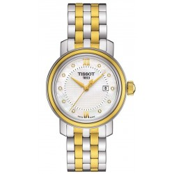 Montre Tissot Femme T-Classic Bridgeport T0970102211600 Diamants Nacre